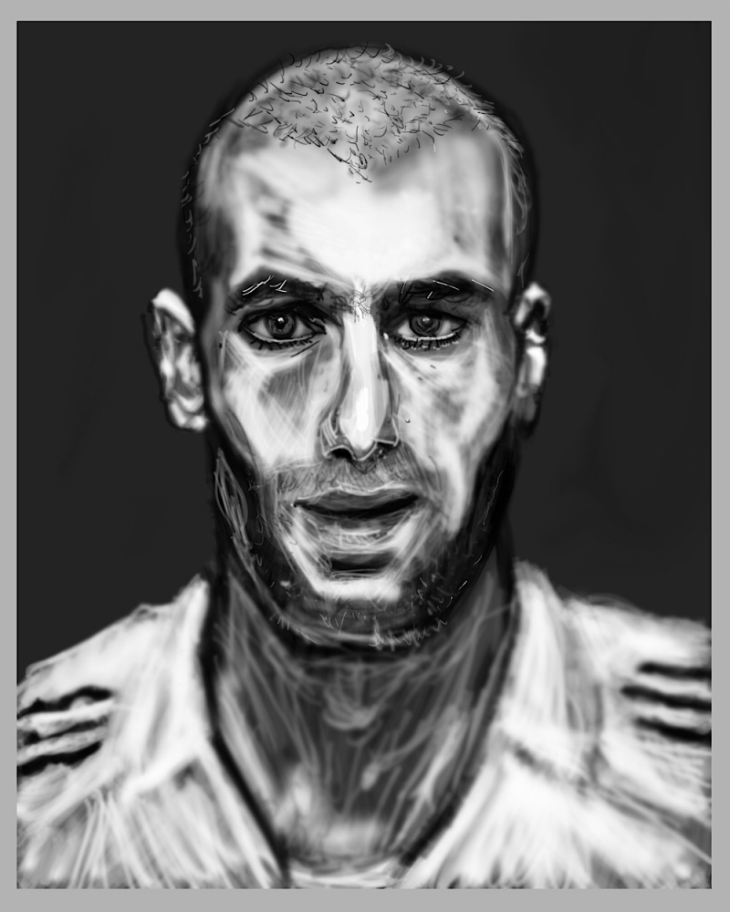 Zinedine Zidane by Zilmari
